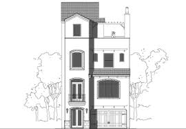 luxury 4 story townhouse floor plan for sale