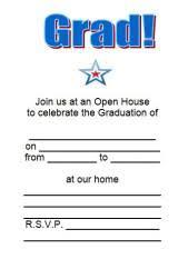 free printable grad invites