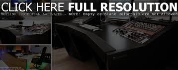 Music Studio Desk Design by Home Recording Studio Desk Layout Decorative Desk Decoration