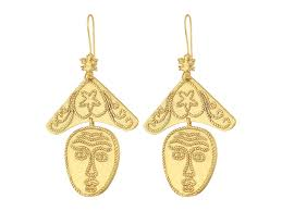 Tory Burch Wallpaper by Tory Burch Sculptural Face Earrings At Zappos Com