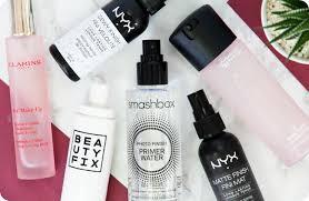 Make Up Nyx battle of the makeup setting sprays nyx fix mac clarins