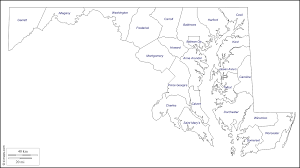 Blank Map Of The Usa by Maryland Free Map Free Blank Map Free Outline Map Free Base