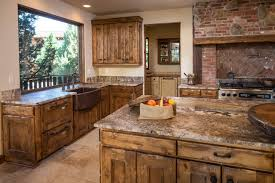 Western Kitchen Ideas Water Tower Inspired Home Kitchen With Butlers Pantry Rustic