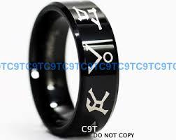 stargate wedding ring stargate ring etsy