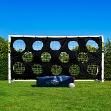 forza goal 12 x 6 soccer goal posts and net fully portable