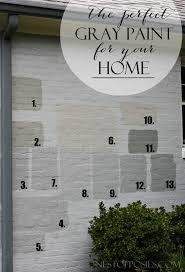 modern exterior paint colors for houses real life gray and bricks