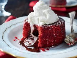 molten red velvet cakes recipe southern living