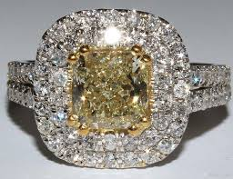 fancy yellow diamond engagement rings 2018 halo radiant cut fancy yellow diamond engagement ring