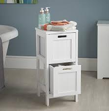 Drawer Storage Cabinet Shaker Style 2 Drawer Storage Unit Bathroom Storage Cabinets