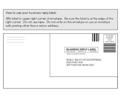 Business Letter Return Address 505 return services