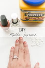 think elysian at home diy matte nail polish topcoat diy