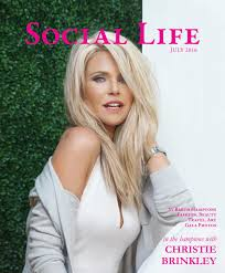 social life july 2016 christie brinkley by social life