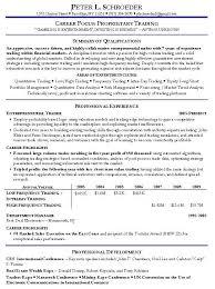 proprietary trading resume example http www resumecareer info