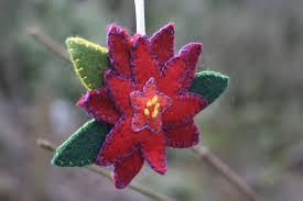 poinsettia and quail ornaments craft c capers