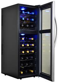 avalon bay ab wine27ds 27 bottle dual zone wine cooler