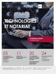 chambre des notaires seine denis calaméo dossier de presse technologies et notariat