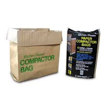 amazon com kitchen master super strong compactor bags pre cuffed