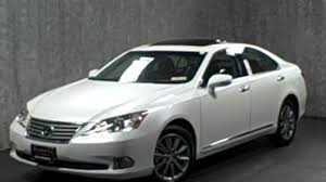 white lexus with black roof 2012 lexus es350 touring edition new interior wheels video