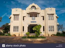 front facade of an art deco villa heritage hotel visalam cgh