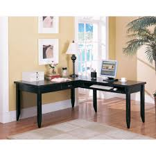 Corner Home Office Furniture by Home Office Simple Home Office Furniture Of Black L Shaped Corner