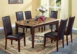 cheap dining table and chairs ebay marble dining room sets appealing marble dining room table top