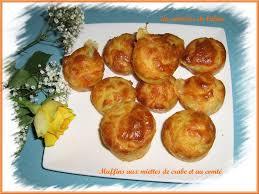 cuisiner crabe muffins aux miettes de crabe et comté on s invite chez céline