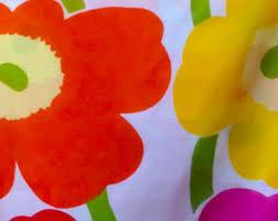 Marimekko Unikko Duvet Baby Duvet Cover Etsy