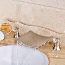 buy widespread crystal bathroom sink faucets and get free shipping