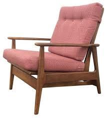 1960s Patio Furniture 1960s Danish Modern Rocking Lounge Chair Modern Rocking Chairs