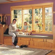 How To Replace A Window Sill Interior How To Install A Bow Window Family Handyman
