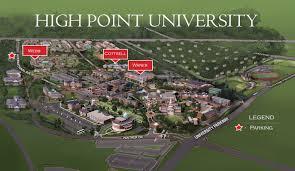 high point 2017 hpu cus map ncas 2017 high point university high point nc