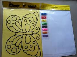10pcs lot color sand art art painting set kit for children in