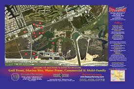 South Padre Island Map The Auction Way Company Upcoming Auctions