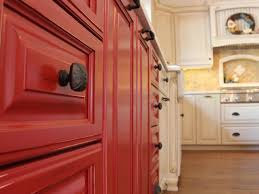 pictures of red kitchen cabinets red kitchen cabinets tjihome
