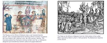 luther s a tale of two dante luther and the pope philobiblonia