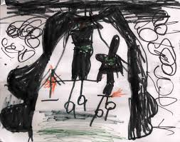 2 more kids halloween poems art predator