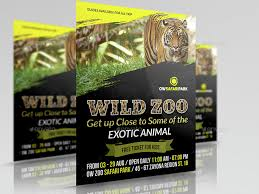 zoo brochure template zoo flyer template by owpictures graphicriver