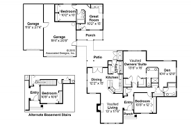 floor plans with guest house house plan ranch house plans kingsley 30 184 associated designs