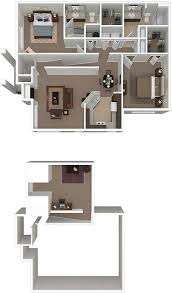 2 bedroom floor plans uptown village at townshend floor plans