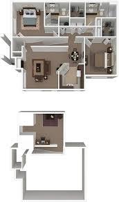 2 bedroom 2 bath floor plans uptown village at townshend floor plans
