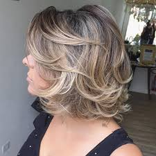medium layered hairstyle for women over 60 60 most prominent hairstyles for women over 40