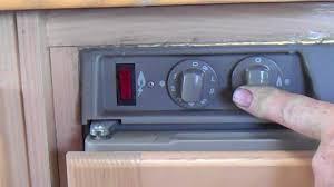 three way fridge elecric gas start motorhomes and campers at