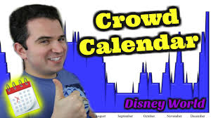 disney world crowd calendar 2017 youtube