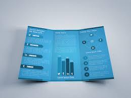 social media brochure template social media tri fold brochure template on behance