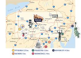 Map Of Pennsylvania With Cities by Envision The Best Learning Environment Donald P Bellisario