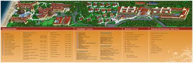 Mexico Resorts Map by Sandos Playacar Beach Resort Travel By Bob