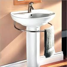 pedestal sink towel bar wall mount pedestal sink under sink towel bar wall mounted pedestal