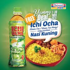 Teh Ichi Oca indomaret point on take the deal free ichi ocha for every