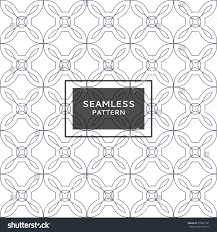 abstract geometric seamless pattern minimalist simple stock vector