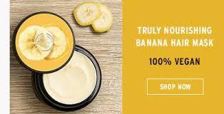 banana hair banana truly nourishing hair mask hair the shop